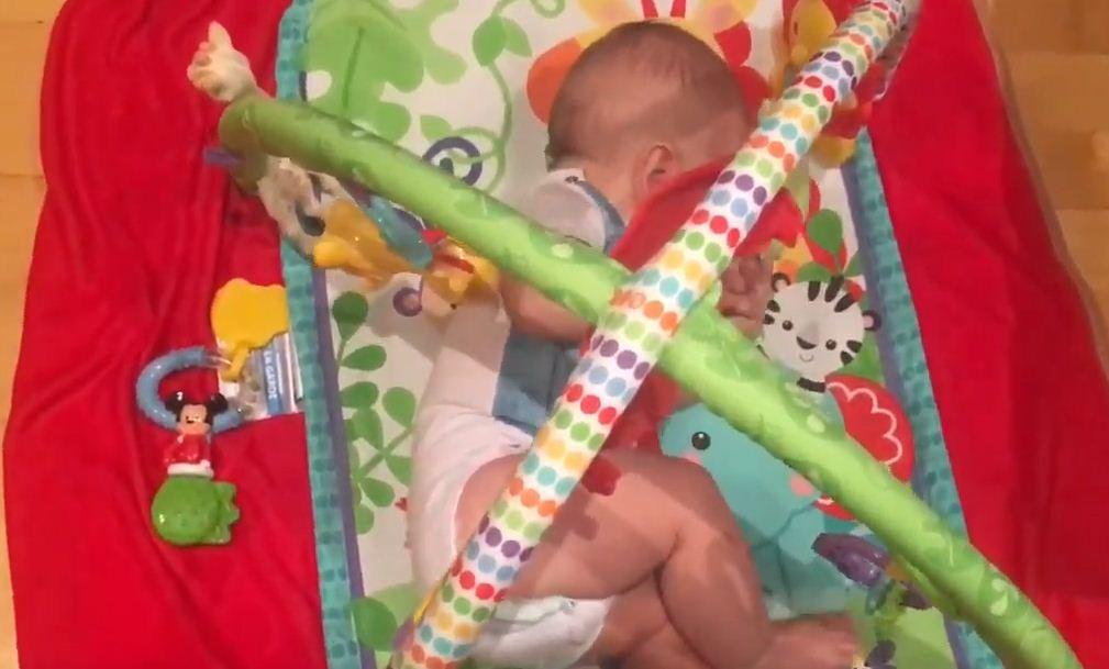 Caídas y sueño del bebé